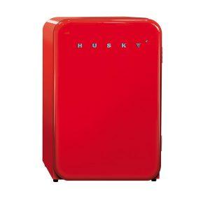 Husky Red Retro Fridge