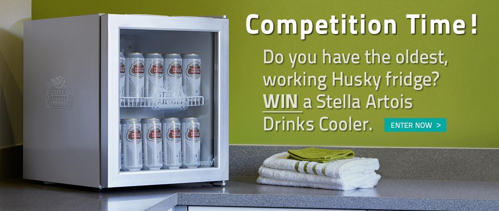 Husky Oldest Fridge Competition